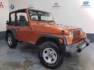 2001 Jeep Wrangler North St Marys Penrith Area Preview
