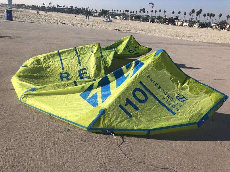 North Rebel 10 Mt kite. Kitesurfing
