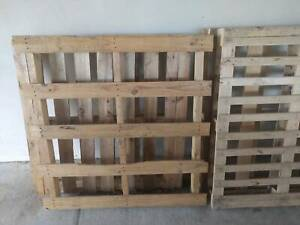 Used timber Pallets heat treated