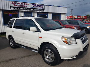 2007 Honda Pilot EX-L  4X4  8 Passnger, Leather Interior