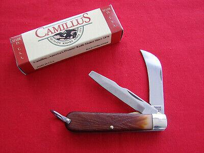 VINTAGE CAMILLUS DURA-TOOL ALL TRADES KNIFE, LINER LOCK, BOX, USA MADE, NOS