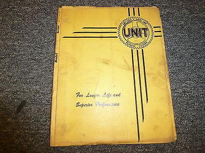 Unit Crane Shovel 271c Crawler Excavator Crane Parts Catalog Manual Book