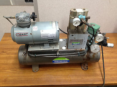 Gast Dielectric Dehumidified Electric Air Compressor Model 17-501-1200