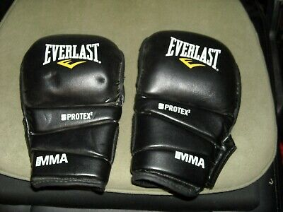 Everlast Protex 2 MMA Universal Training Gloves Grappling Striking  L large