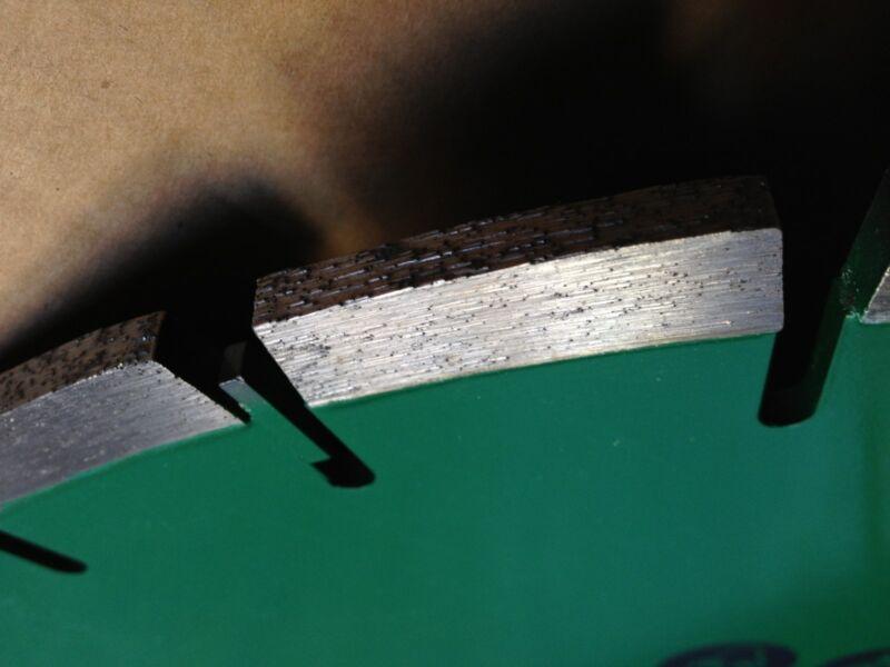 14X220 DIAMOND GREEN CONCRETE/ASPHALT BLADE