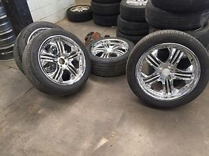 "20"" Tyres & wheels Rocklea Brisbane South West Preview"