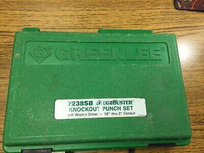 Greenlee 7238sb Slugbuster Knockout Punch Set
