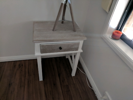 Hampston Style Bedside Table
