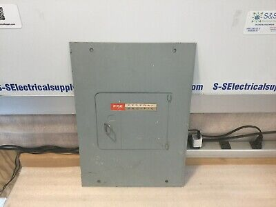 Fpe Federal Pacific M108-16-100g Breaker Panel Cover 8-16 Spaces 125amp 120-240v