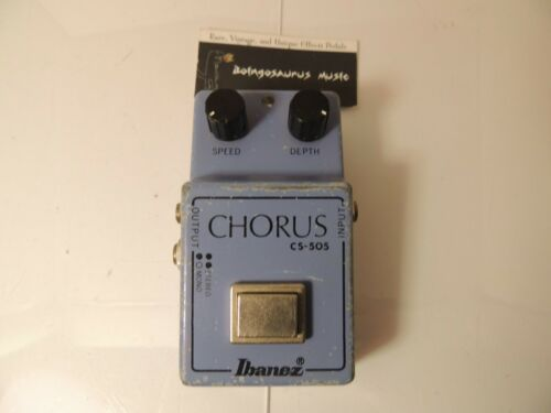 Vintage 1981 Ibanez CS-505 Stereo Chorus Effects Pedal Free USA Shipping