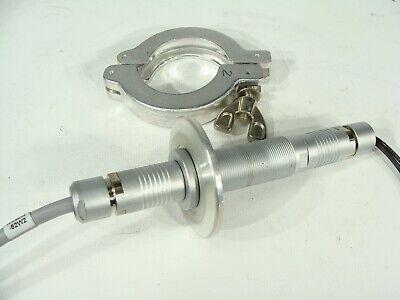Fischer Core Series High Vacuum Feedthrough Circular Connector 4-pin W Flange