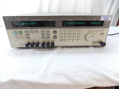 Hewlett Packard Agilent 83731b 20 Ghz Synthesized Signal Generator Calibrated