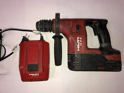 Hilti Te 6-a36 36v Cordless Rotary Hammer Drill W Battery Charger
