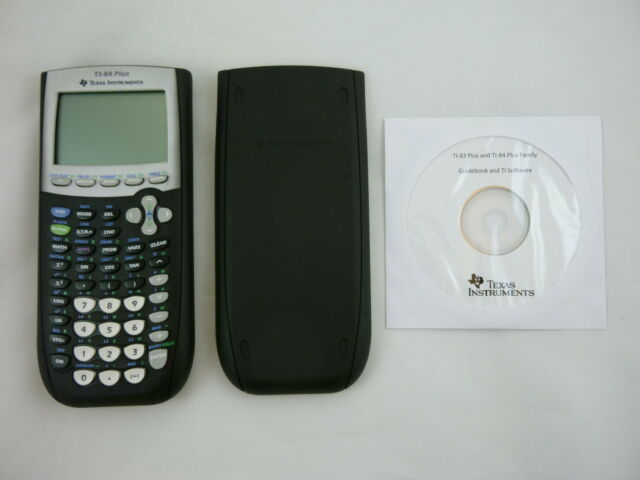 TI-84 Plus Graphic Calculator Texas Instruments TI84 + Graphing