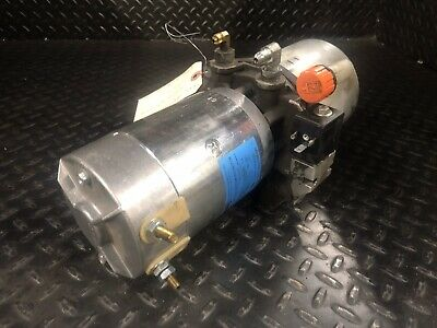 Yale-580053501 Pump Motor Assembly Yale Mpc080lf Pallet Jack Good Used Parts