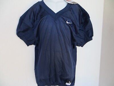 Boys Nike Football Practice Mesh Jersey Navy Blue Size L Youth 54ea50add