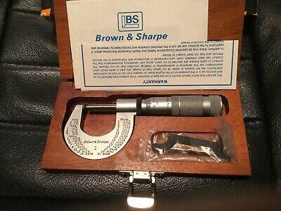 1 Brown Sharp Micrometer