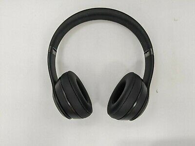 Good Beats by Dr. Dre Solo3 Wireless On Ear Headphones, Black -LH0023