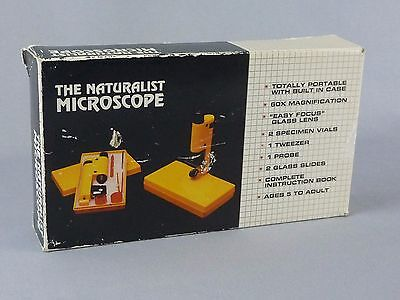The Naturalist Plastic Portable Microscope Med-pro Systems 60x Magnification