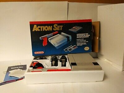 NES Action Set / nintendo entertainment system CIB Tested works
