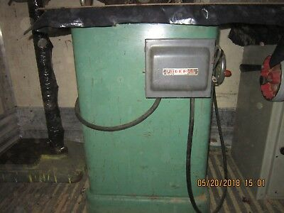 Powermatic Model 25 Shaper  Later Model Quill 2hp 3 Phase Good Condition