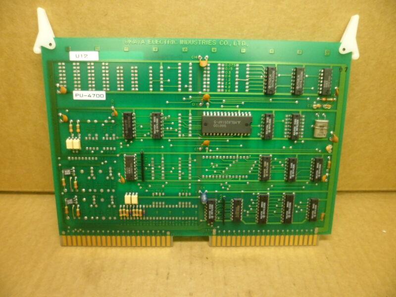 OKAYA ELECTRIC PU-4700 CURRENT I/O CIRCUIT BOARD  NOS
