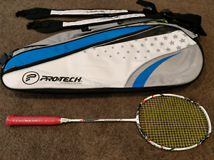 Edge Serve Racket Badminton Professional with bag Harrison Gungahlin Area Preview