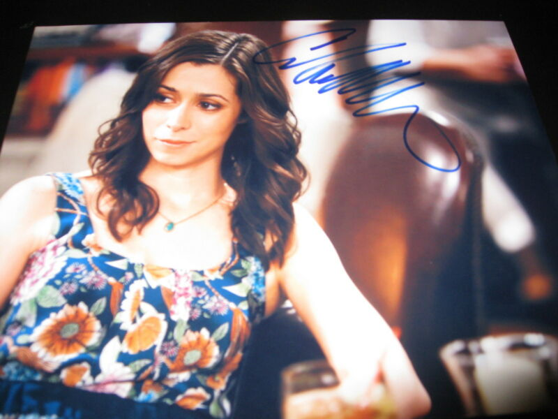 CRISTIN MILOTI SIGNED AUTOGRAPH 8x10 PHOTO HOW I MET YOUR MOTHER COA IN PERSON E