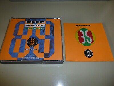 Deep Heat 89 - Fight The Flame - Various CD 1989 Telstar Raze Adeva S-Express