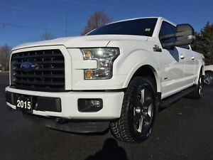 2015 Ford F-150 XLT 302A SuperCrew 6.5-ft. Bed 4WD