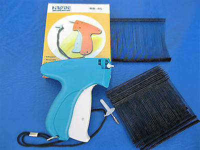 Garment Price Label Tag Tagging Gun Plus 1000 3 Black Barbs