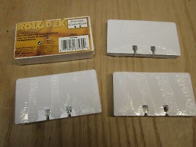 Lot Of 4 Pack Rolodex Refill Cards Total About 250 Rolodex 2-1-4x 4in