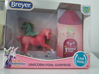 Breyer Horses Unicorn Foal Surprise Stablemates #5474 1:32 / NIB