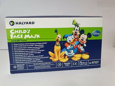 Disney Child´s Face Mask Kinder Gesichtmaske Mundschutz Box á 75 Stück