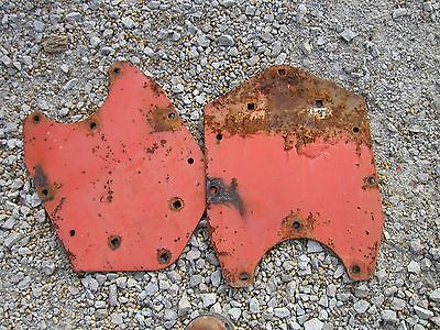 Allis Chalmers Wd Tractor Original Ac Fender Mounting Brackets To Tractor