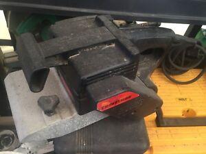 Sears Craftsman belt sander & B&W power tools