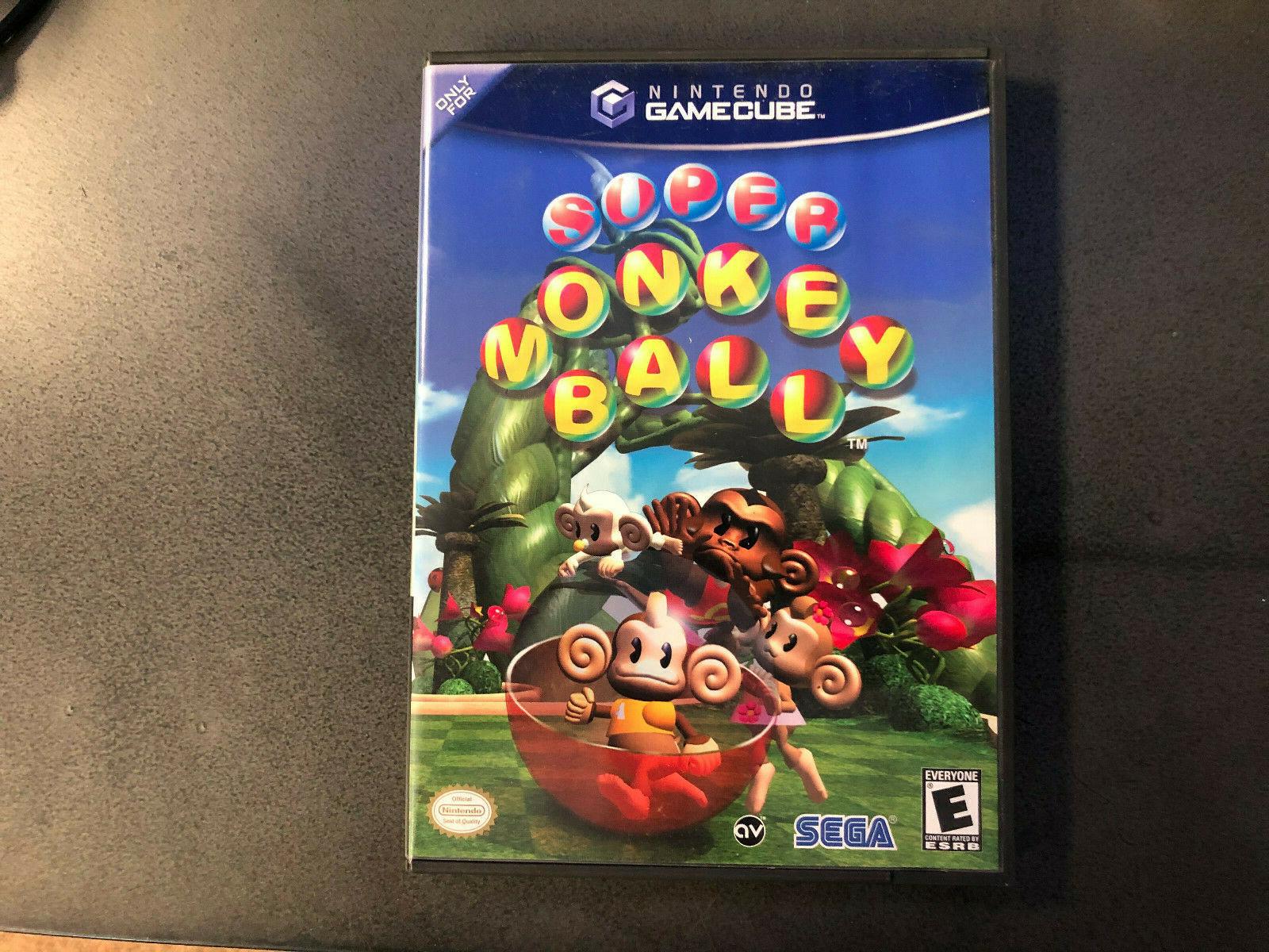 Super Monkey Ball Nintendo GameCube, 2001 Black Label CIB RARE Tested  - $44.00