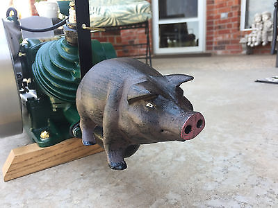 Maytag Smoked Bacon 92hit Miss Gas Engine Pig Exhaust Muffler Engine Show