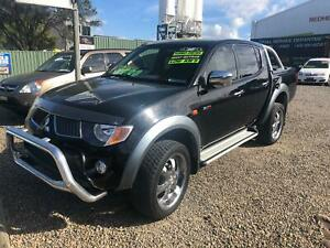 2006 MITSUBISHI TRITON GLX-R TURBO DIESEL / MAY 2020 REGO / LOW KLMS Redhead Lake Macquarie Area Preview