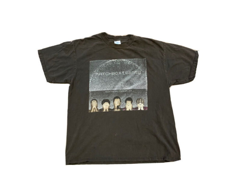 Matchbox Twenty 2003 More Than You Think You Are Tour Concert T Shirt Size M
