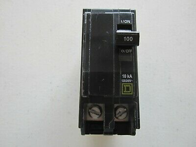 Square D Qob2100 Circuit Breaker 2-pole 100 Amp
