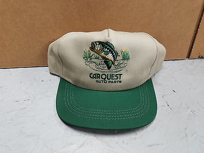 Carquest Auto Parts   Big Bass   Fishing  Cap