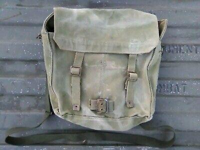 1-34-3 AUTHENTIC WWII WW2 BRITISH P1937 P37 MOD HAVERSACK SHOULDER BAG POUCH