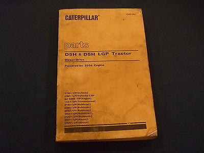 Cat Caterpillar D5h D5h Lgp Tractor Dozer Parts Book Manual Sn 1yd 2sd
