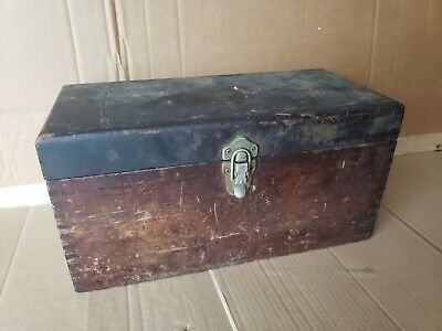 Brown And Sharpe Wood Case Outside Micrometer Set Machinist