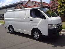 Toyota Hiace LWB 2008 Automatic, Turbo Diesel, Log Books! Lidcombe Auburn Area Preview