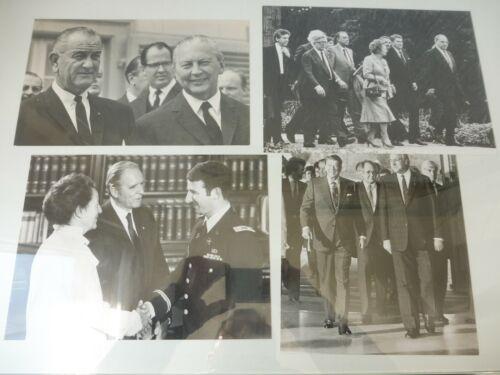 4+Pressefotos+%3A+Staatsbesuche+L.B.Johnson+%2CR.Reagan+%2C+M.Thatcher%2C+origi.+Abz%C3%BCge