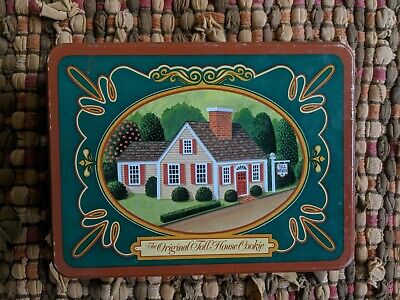 Vtg The Nestle Toll House Cookie Tin FREE SHIPPING