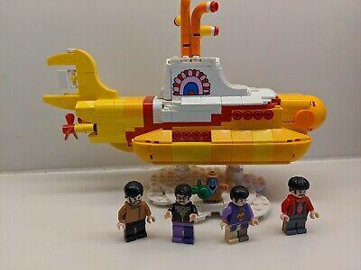 LEGO Ideas 21306 Yellow Submarine, No box, No instructions, read description
