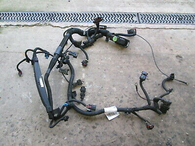 2011 VAUXHALL CORSA D 1.4 16V A14XER ENGINE WIRING LOOM HARNESS 13299676 DAMAGED